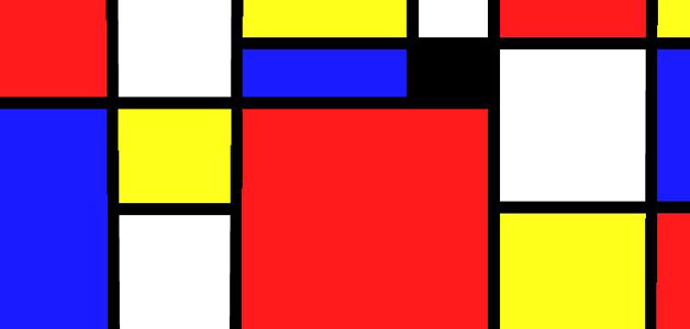 Mondrian Math lesson plan