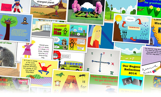 Wixie student projects